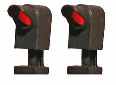 1 Pair (2) HO Scale Dwarf Searchlight LED Signals Brass Tomar H875BL
