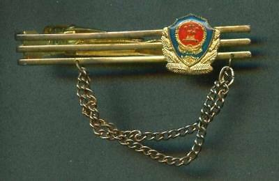 Chinese police Tie Clip