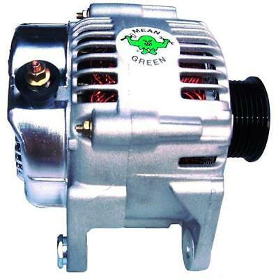 00-06 JEEP Wrangler 4.0L High Amp MEAN GREEN Alternator 200+amps with warranty