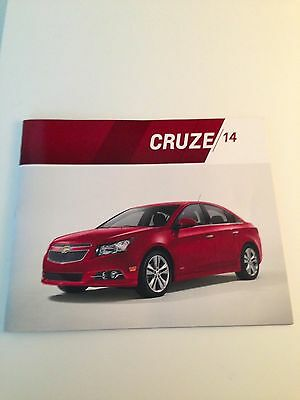 2014 Chevy Cruze 34-page Original Sales Brochure