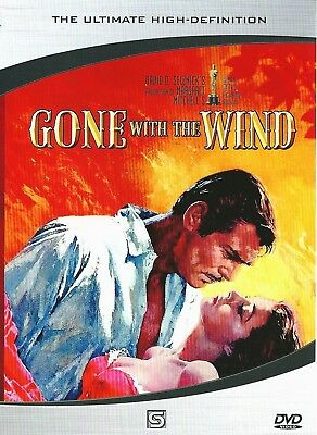 """NEW DVD """" Gone with the Wind """" (1939)  Clark Gable, Vivien Leigh"""