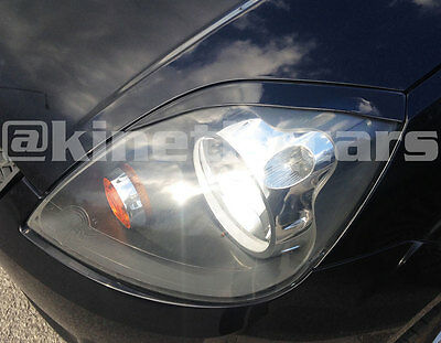 Ford Fiesta Facelift Eyebrows Headlamp spoilers ST Zetec