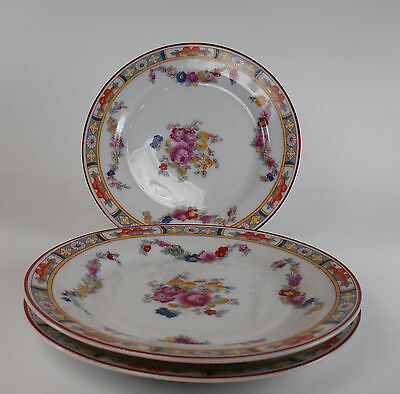 """HEINRICH China HC7 Pattern Set of Three (3) Bread and Butter Plates @ 6 1/4"""""""