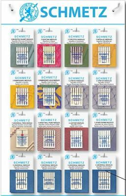 Sewing Machine Needles Schmetz - Buy 2 Get 3rd FREE + Schmetz ABC Needle Guide!