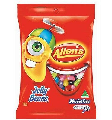 Allens Jelly Beans 190g x 12