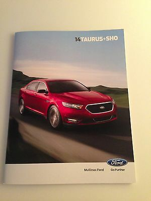 2014 Ford Taurus+SHO 32-page Original Sales Brochure