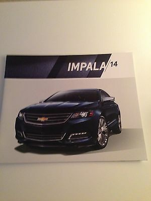 2014 Chevy Impala 30-page Original Sales Brochure