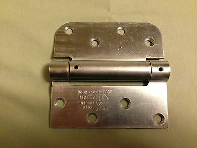 "Commercial Spring Hinge Door Closer 4"" x 3-15/16"" x 5/8"" US26D"