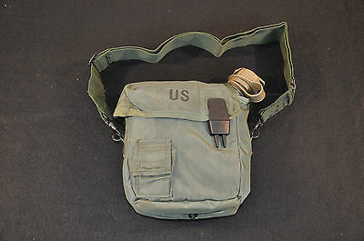 NEW - USGI 2 QUART BLADDER CANTEEN WITH INSULATED CARRIER - OLIVE DRAB