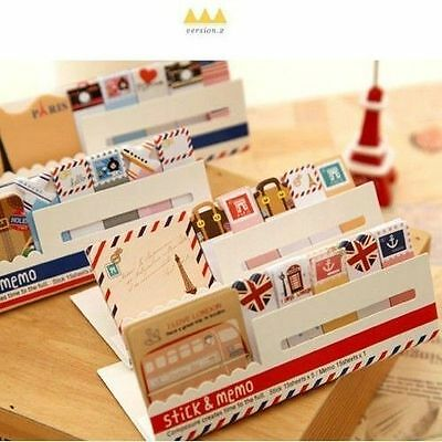 New Cute Funny Joy Sticker Post It Bookmark Memo Marker Point Flags Sticky Notes
