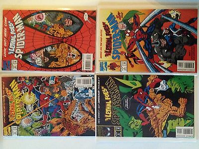 Lethal Foes of Spider-Man SET Issues #1, #2, #3, #4. [Marvel][VF/NM]