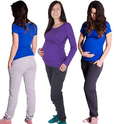 Maternity casual comfortable Yoga Gym Trousers Pants Hipsters 6 8 10 12