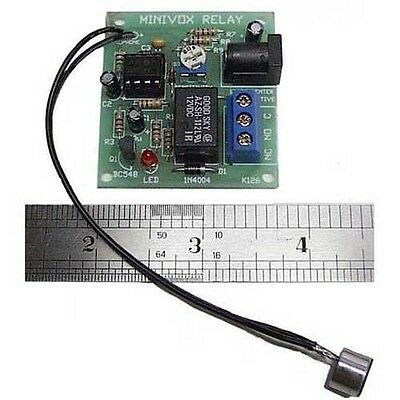 Mini VOX and Relay Kit - Controls Equipment by Voice - Kit 126   ( KIT_126 )