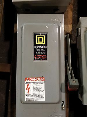 Square D Heavy Duty Safety Switch 30 AMP