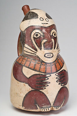 Ancient Nazca Figural Vessel