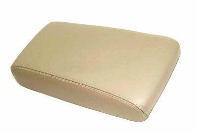 Fits 96-04 Nissan Pathfinder Synthetic Leather Console Lid Armrest Cover Tan