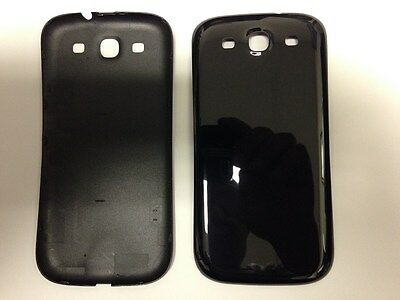 LOT OF 5 NEW BATTERY DOOR BACK COVER FOR SAMSUNG GALAXY S3 i9300 BLACK