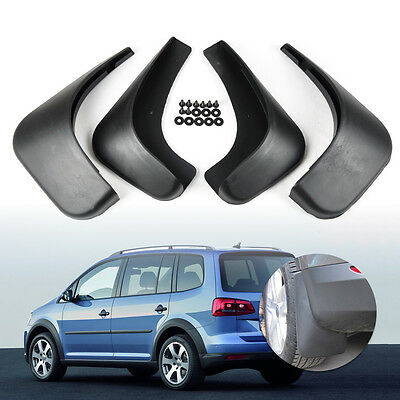 Set of Splash Guards Mud Flaps Mudguard for Volkswagen VW Touran 2004 - 2011