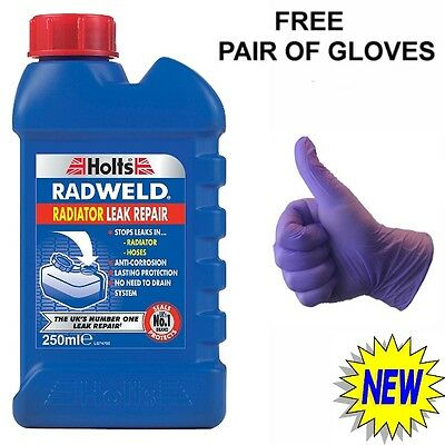 Holts Radweld Car Radiator And Hose Stop Leak Repair Additive Sealant Leaking