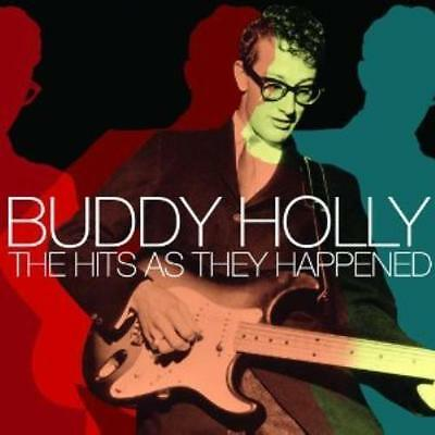 BUDDY HOLLY - THE HITS AS THEY HAPPENED CD (Greatest Hits / Best Of)