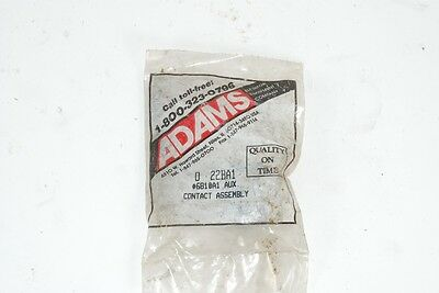 NEW NOS Adams 6810A1 Aux Contact Assembly 022BA1 - Elevator Part