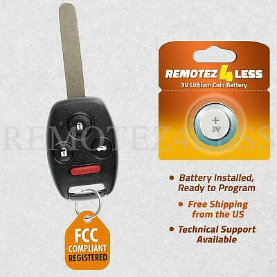 New 2008-2012 Replacement Remote Uncut Key Combo KR55WK49308 + Extra Battery