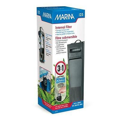Marina I25 Aquarium Internal Filter Fish Tank Tropical Small 100 L/H   25 Litres