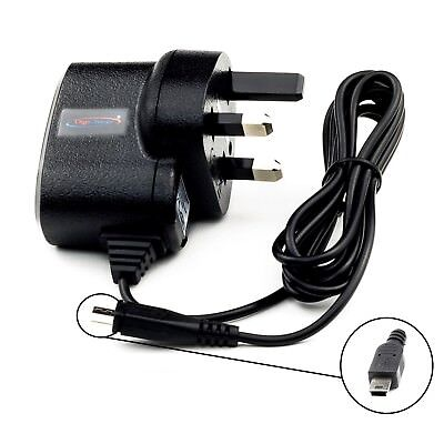 UK Mains House AC Charger for Garmin Nuvi 2567LM 2577LT GPS Sat Nav