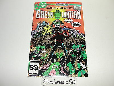 Green Lantern #198 Comic DC 1986 Crisis Tie In Guy Gardner Hal Jordan Team Up