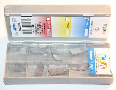 GIP 3.00E-0.40 IC20 ISCAR *** 10 INSERTS *** FACTORY PACK ***