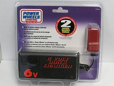 Fisher Price Power Wheels 6 Volt Fast Charger