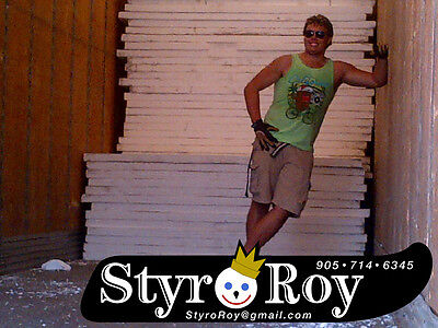 "STYROFOAM Sheet Insulation HalfPrice!!! Only $20 each 4x8 sheets 2.75"" THICK!"