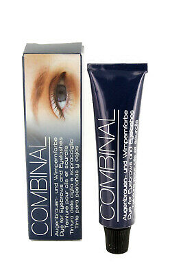 Combinal Professional Dye For Eyebrows and Eyelashes Blue Tint 15ml Tinting
