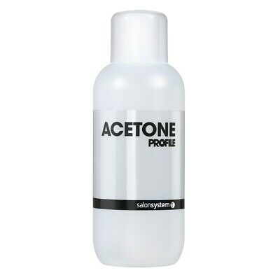 Salon System Profile Acetone Gel Nail Polish Soak-Off Remover Cleanser 500ml