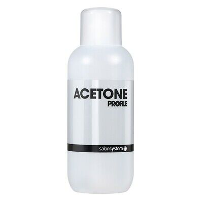 Salon System Profile Acetone Nail Polish Remover 500ml