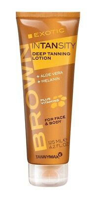 TannyMaxx Brown Fruity Insanity Deep Tanning Lotion Accelerator Face Body 125ml