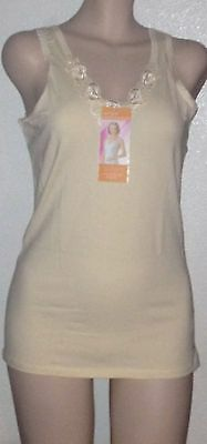 Nwt Unique Women's Camisole: Tank Top Undershirt: 95% Cotton: Size: L,xl,2Xl,3Xl