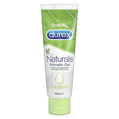 Gel Durex NATURALS lubrificante intimo Ingredienti di origine naturale 100 ml
