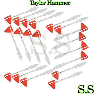 140 Piece  TAYLOR PERCUSSION Neurological Reflex HAMMER New