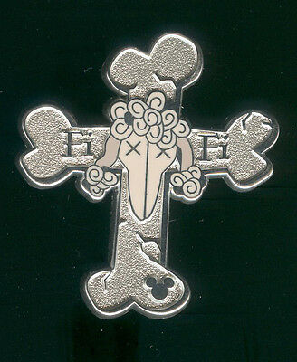 DLR 2009 Hidden Mickey Haunted Mansion Tombstones Fifi Poodle Disney Pin 72111