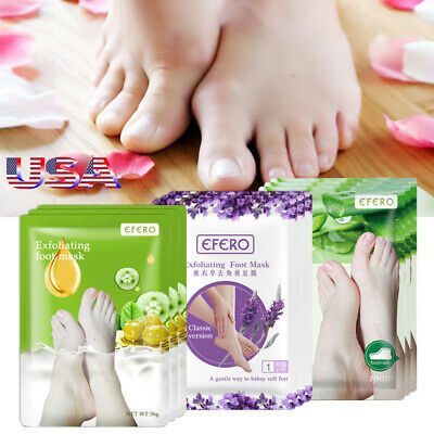 4pair Baby Foot Care Peeling Feet Mask Renewal Remove Callus Dead Skin Pedicure
