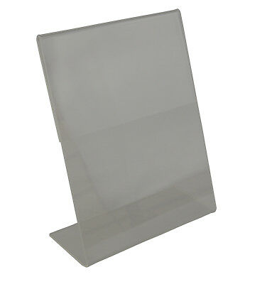 Acrylic Sign Holder- Upright Or Slant Back