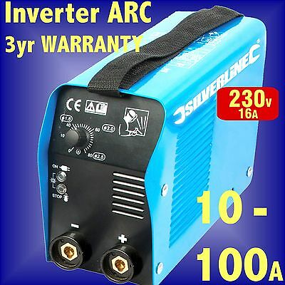 100 AMP INVERTER ARC WELDER stick rod 100amp 100a welding