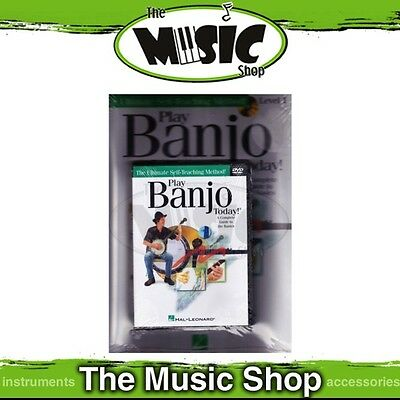 New Play Banjo Today Level 1 Starter Pack - Music Tuition Book with CD & DVD