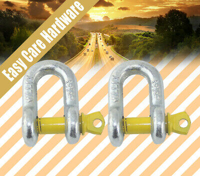 D shackle shackles 6 8 10 12 14 16 20 mm Galvanized New