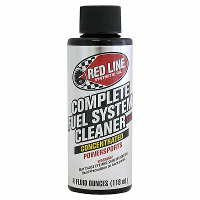 Red Line Complete Fuel System Cleaner Treatment for Motorcycles 118ml