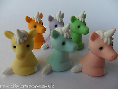 IWAKO Japanese Animal Novelty Puzzle Eraser Rubber- IWAKO Kawaii Unicorn Eraser