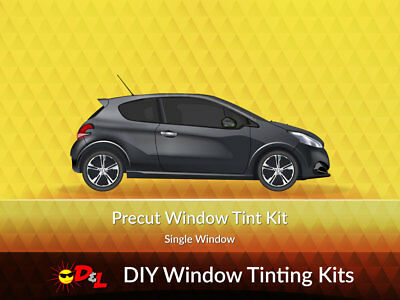Precut Window Tint Kit-Single Side Only for ALL VEHICLES Cars, Trucks, SUVs, etc