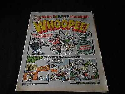 Whoopee Comic 27th September 1980