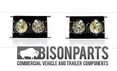 +Daf Lf45, Lf55, Cf65, Cf75, Cf85 2001 On Spot & Fog Lamps (Pair) Daf319/320